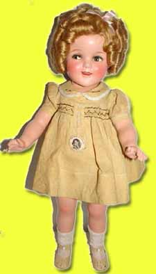My minty 22 inch Shirley Temple doll.